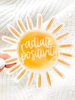 Elyse Breanne Design Radiate Positivity Sticker