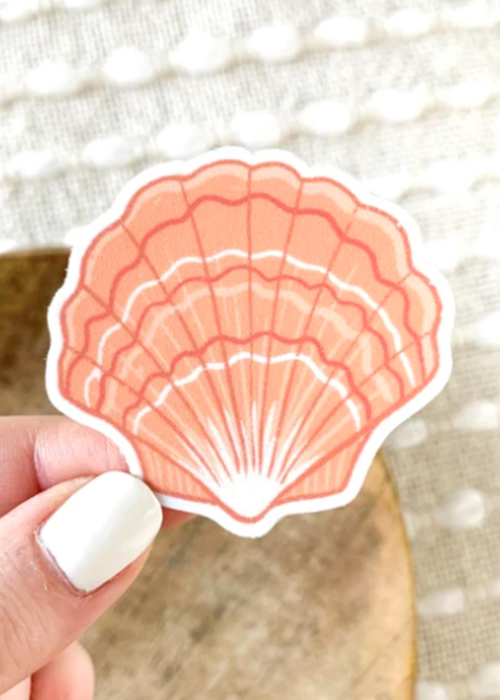Elyse Breanne Design Shell Sticker