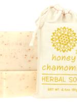 Honey Chamomile Herbal Soap Block