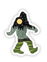 Big Moods Bigfoot Nature Sticker