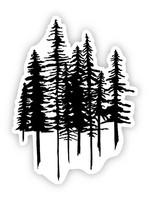 Big Moods Trees Nature Sticker