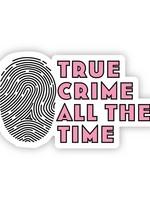 True Crime Pink Sticker