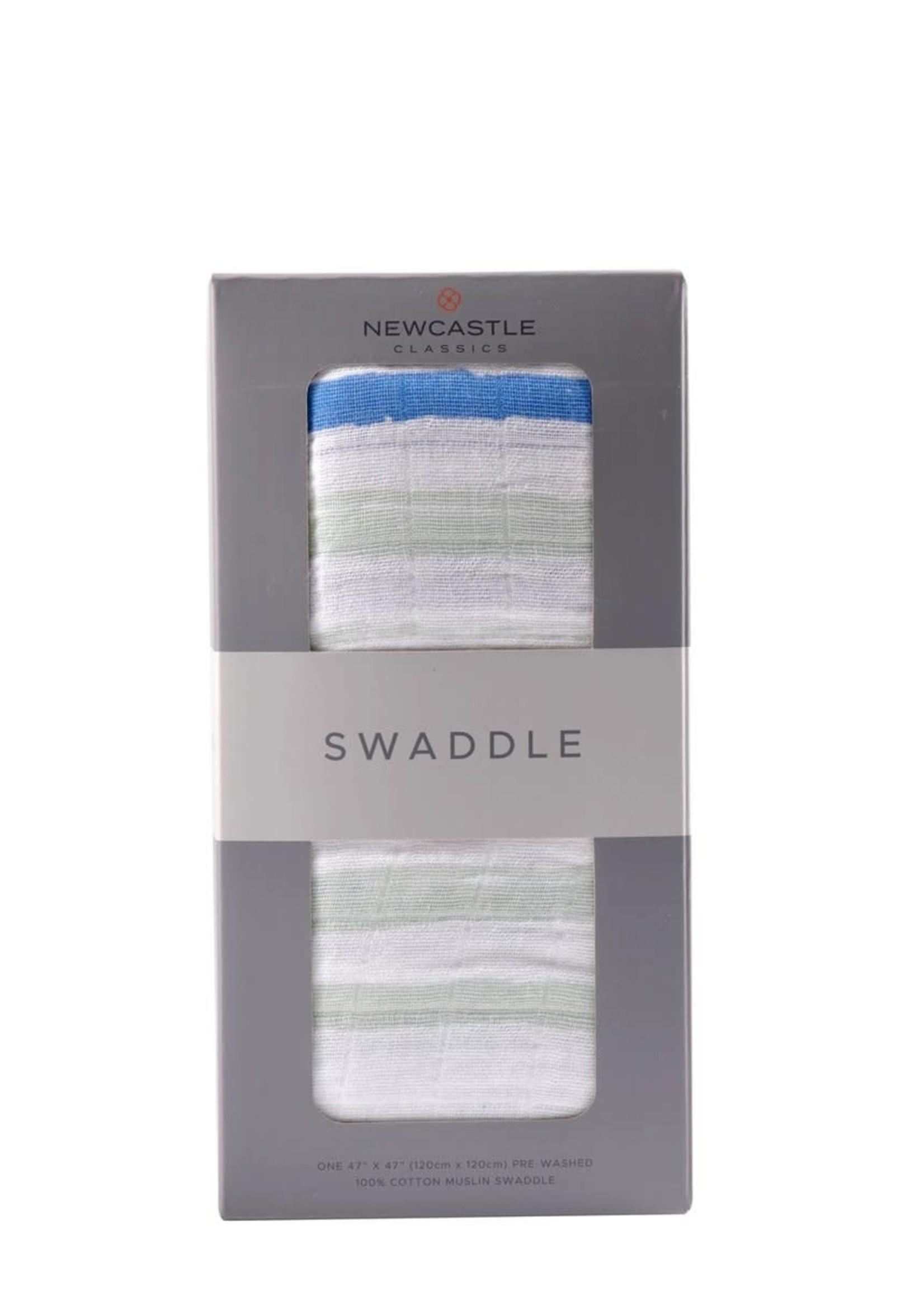 Newcastle Classics Ocean Stripe Swaddle