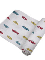 Vintage Muscle Cars Bamboo Swaddle