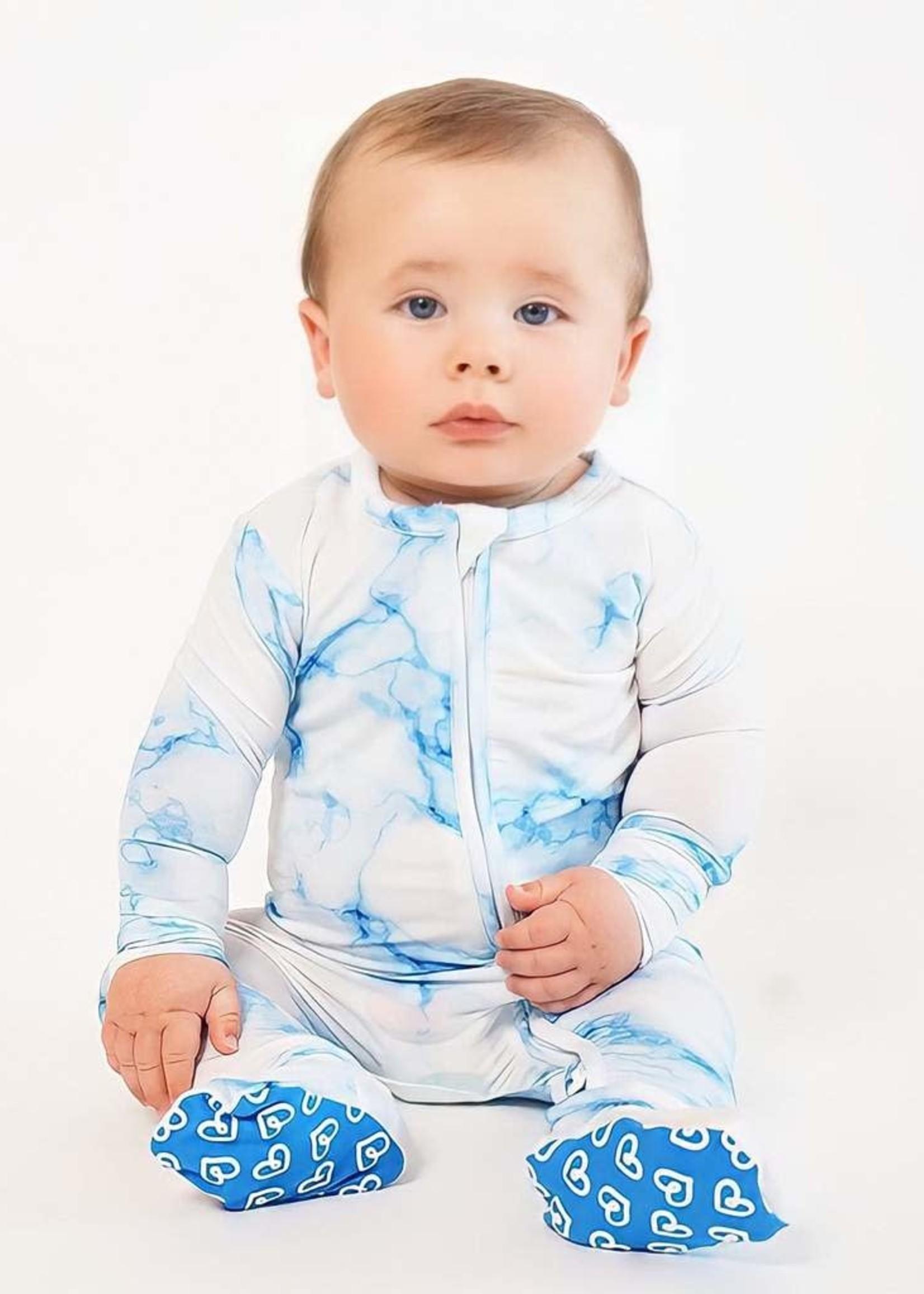 Lev Baby Milo Zippered Footie