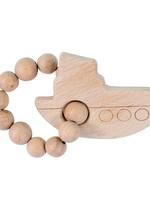 Bebe Au Lait Tug Boat Natural Wooden Teether