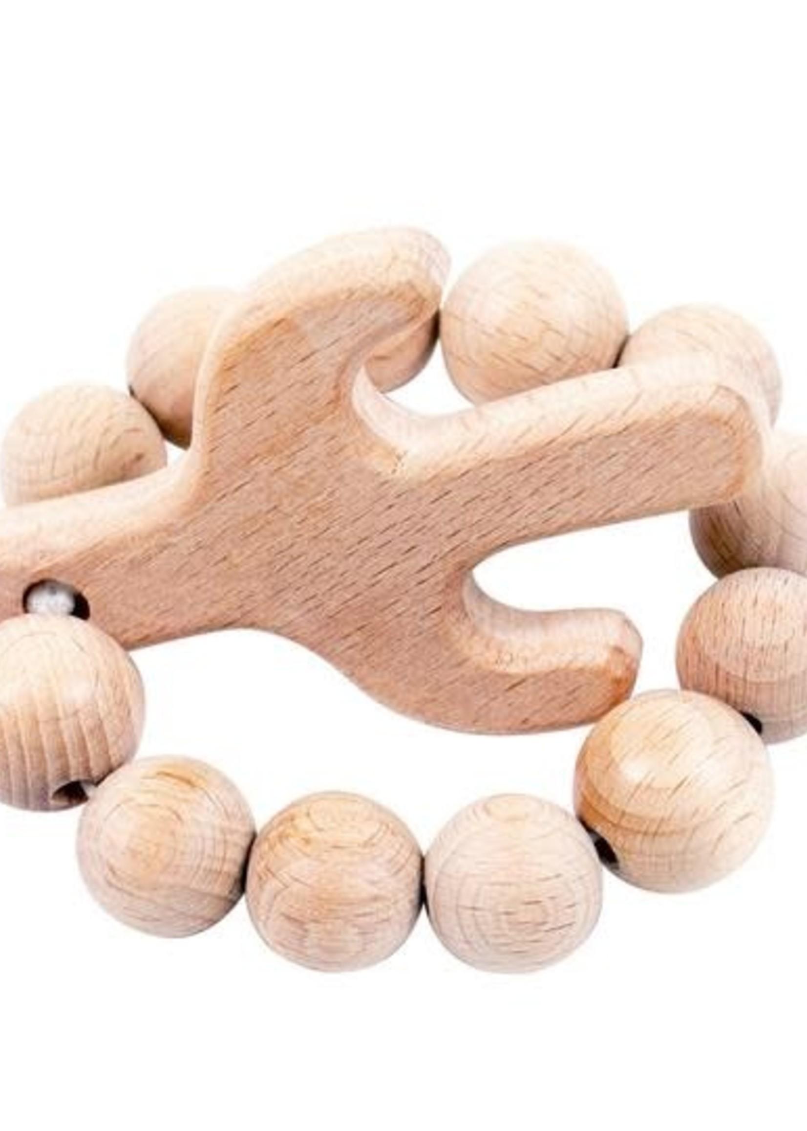 Bebe Au Lait Cactus Natural Wooden Teether