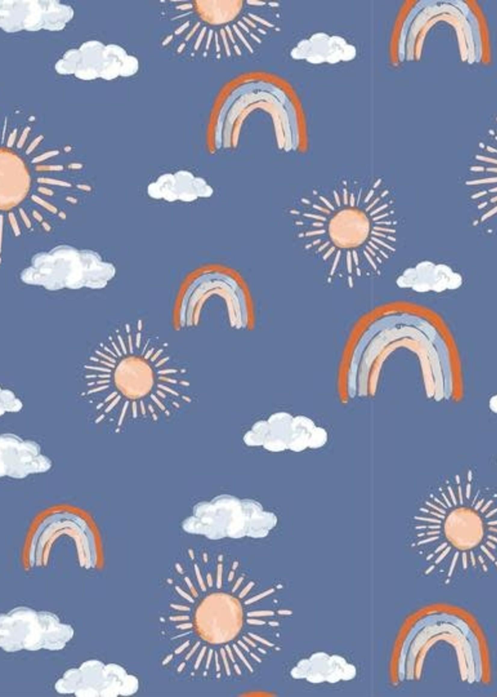 Bebe Au Lait Hello Sunshine Classic Muslin Burp Cloth