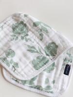 Bebe Au Lait Classic Floral Classic Muslin Burp Cloth