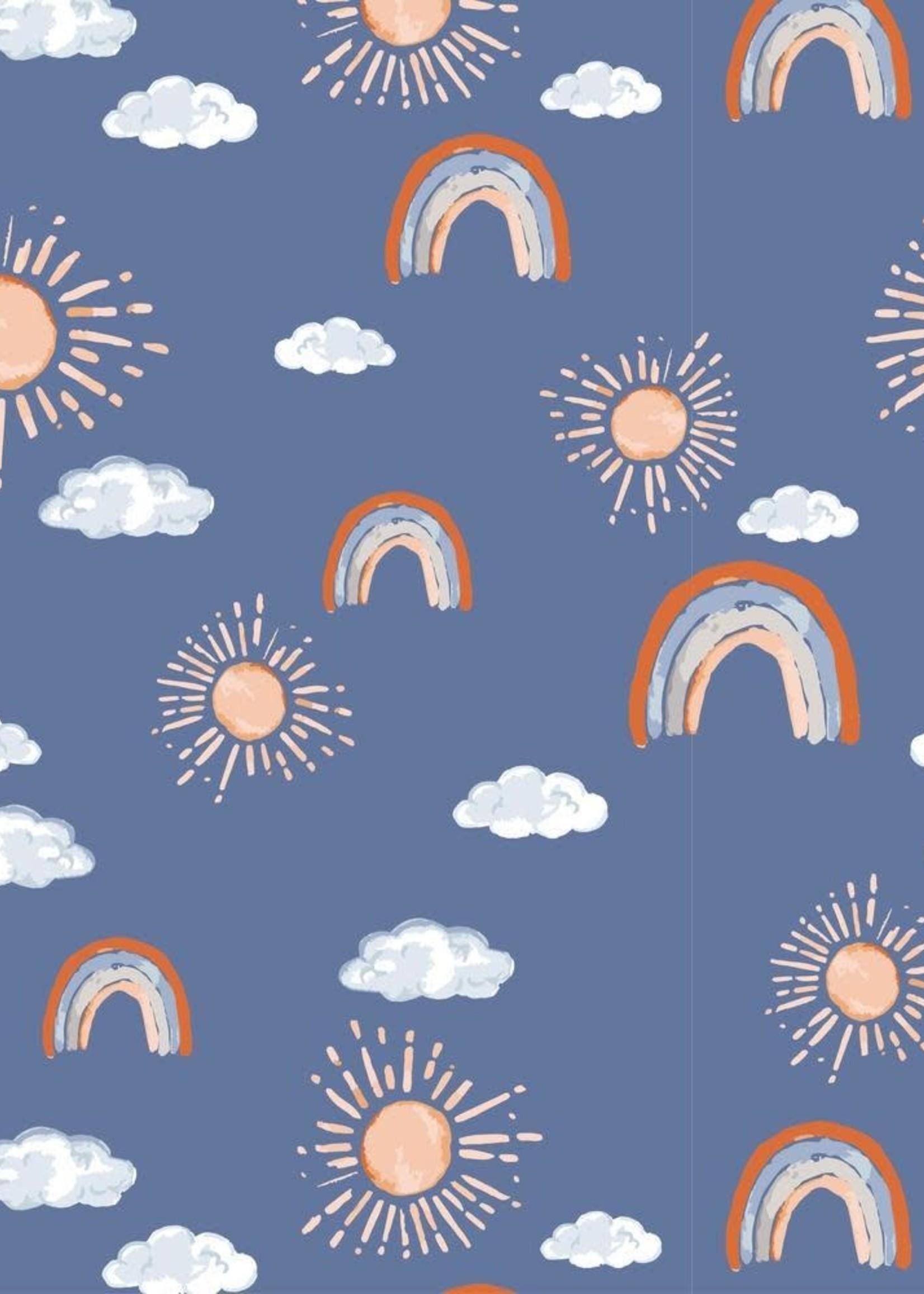 Bebe Au Lait Hello Sunshine Classic Muslin Swaddle Blanket