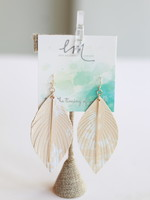Erin McDermott Feather Bar Earrings