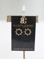 Allison Conway AC Sunshine Stud Earring