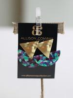 Allison Conway AC Mermaid Earrings