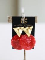 Allison Conway AC Ruby Earrings