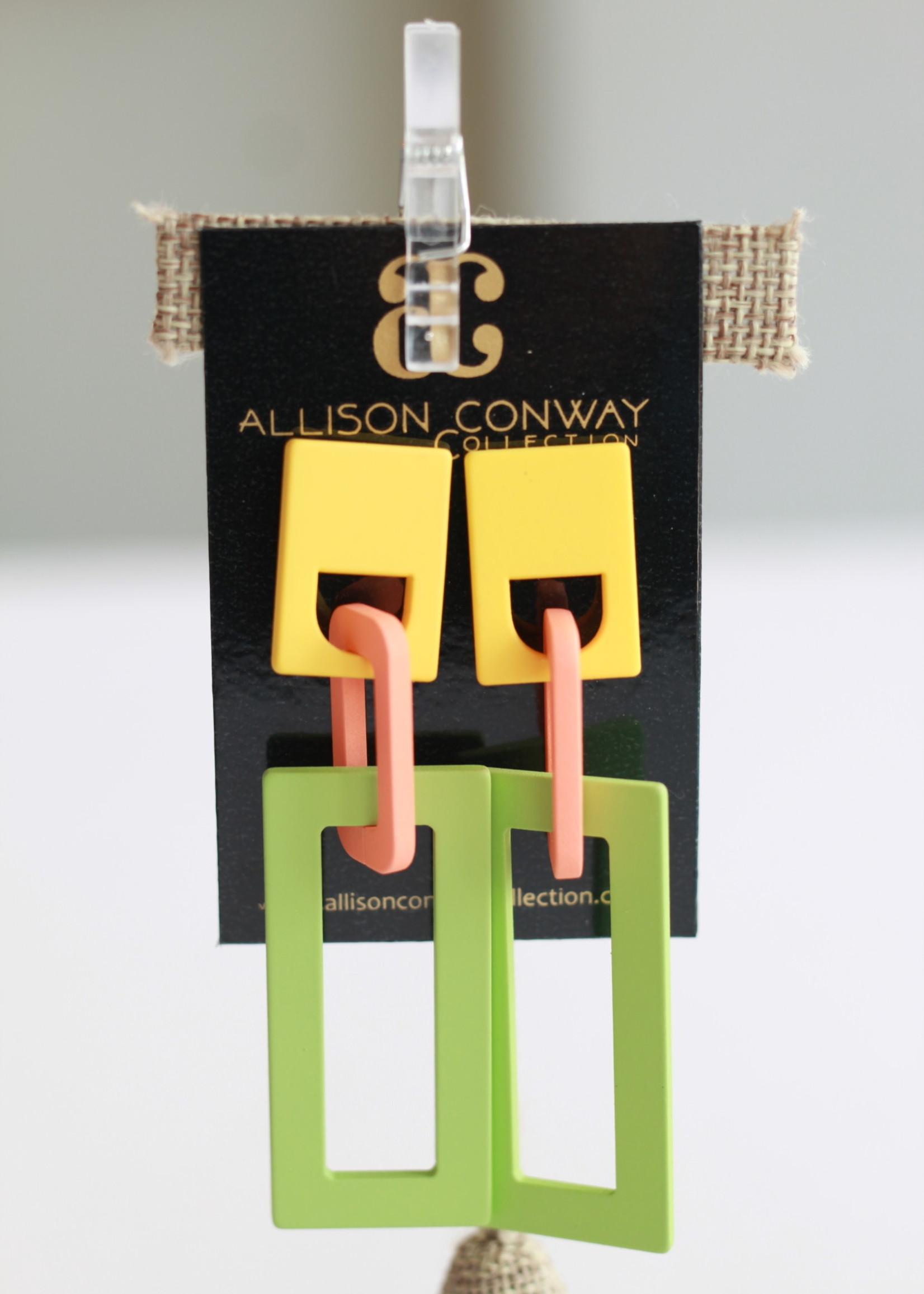 Allison Conway AC Retro Deco Earring I