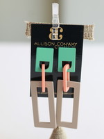 Allison Conway AC Retro Deco Earring V
