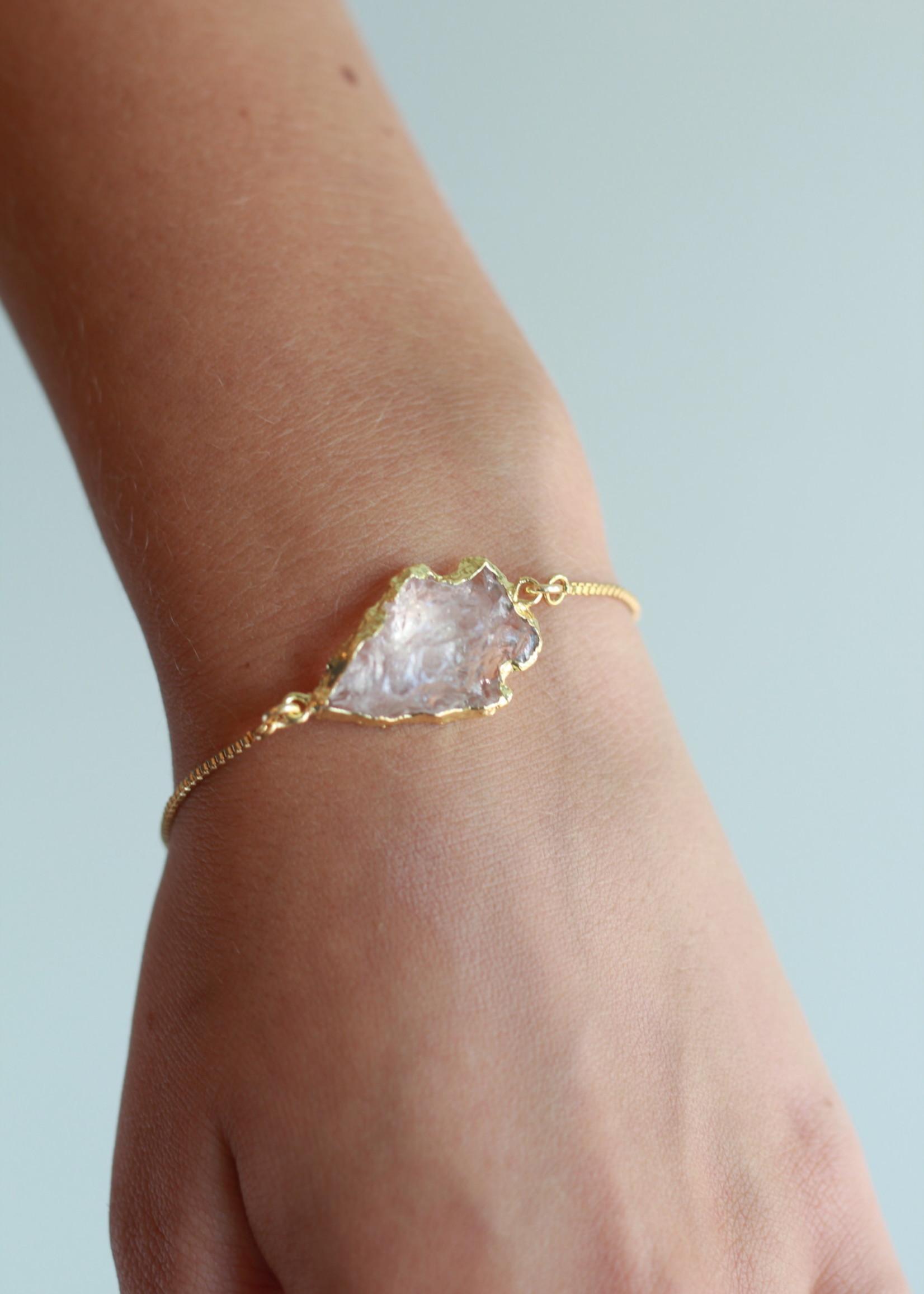 Allison Conway AC Clear Arrowhead Bracelet