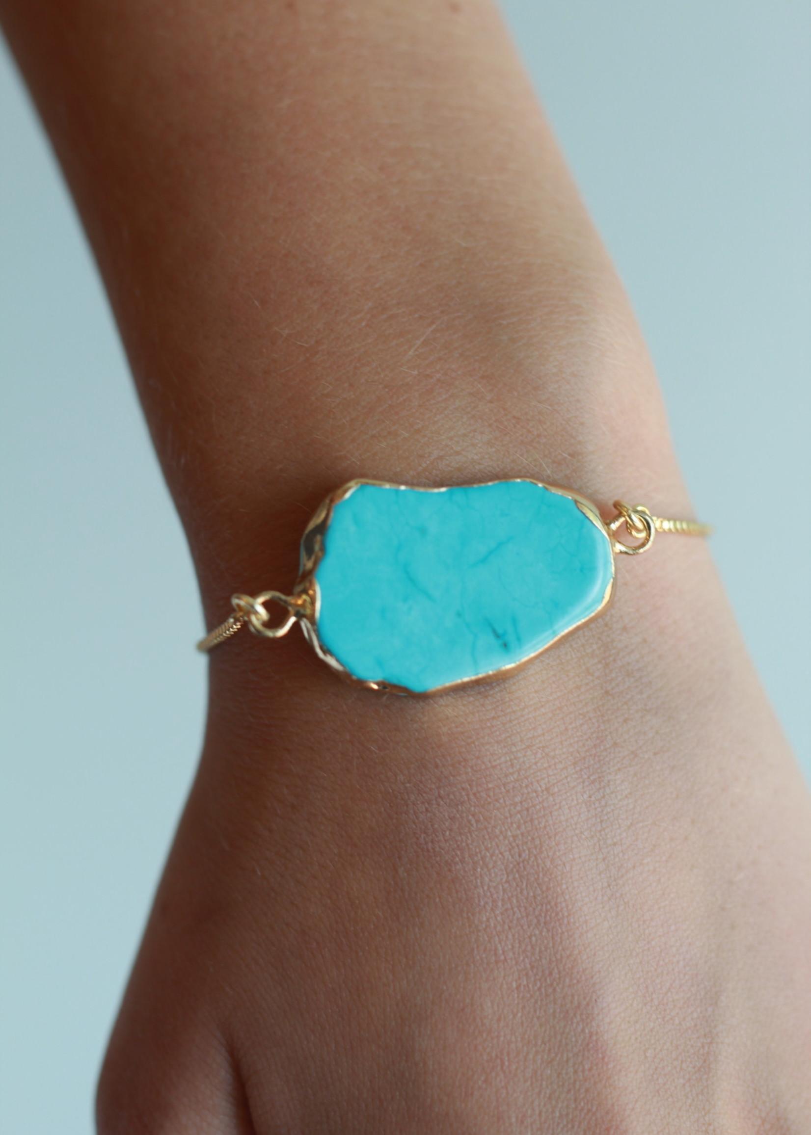Allison Conway AC Turquoise Bracelet