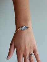 Allison Conway AC Icy Geode Bracelet