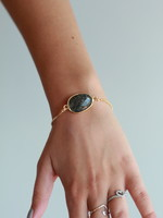 Allison Conway AC Stone Bracelet