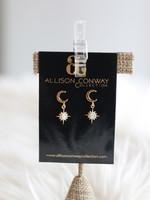 Allison Conway AC Opal Moons Earrings