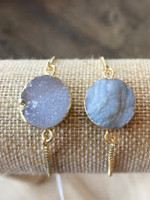 Allison Conway AC Iridescent Moonstone Bracelet