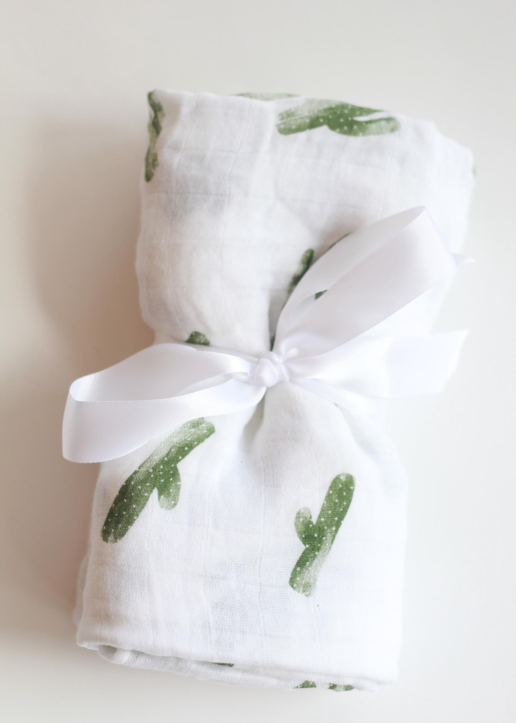 Bebe Au Lait Saguaro Oh-So-Soft Muslin Swaddle Blanket