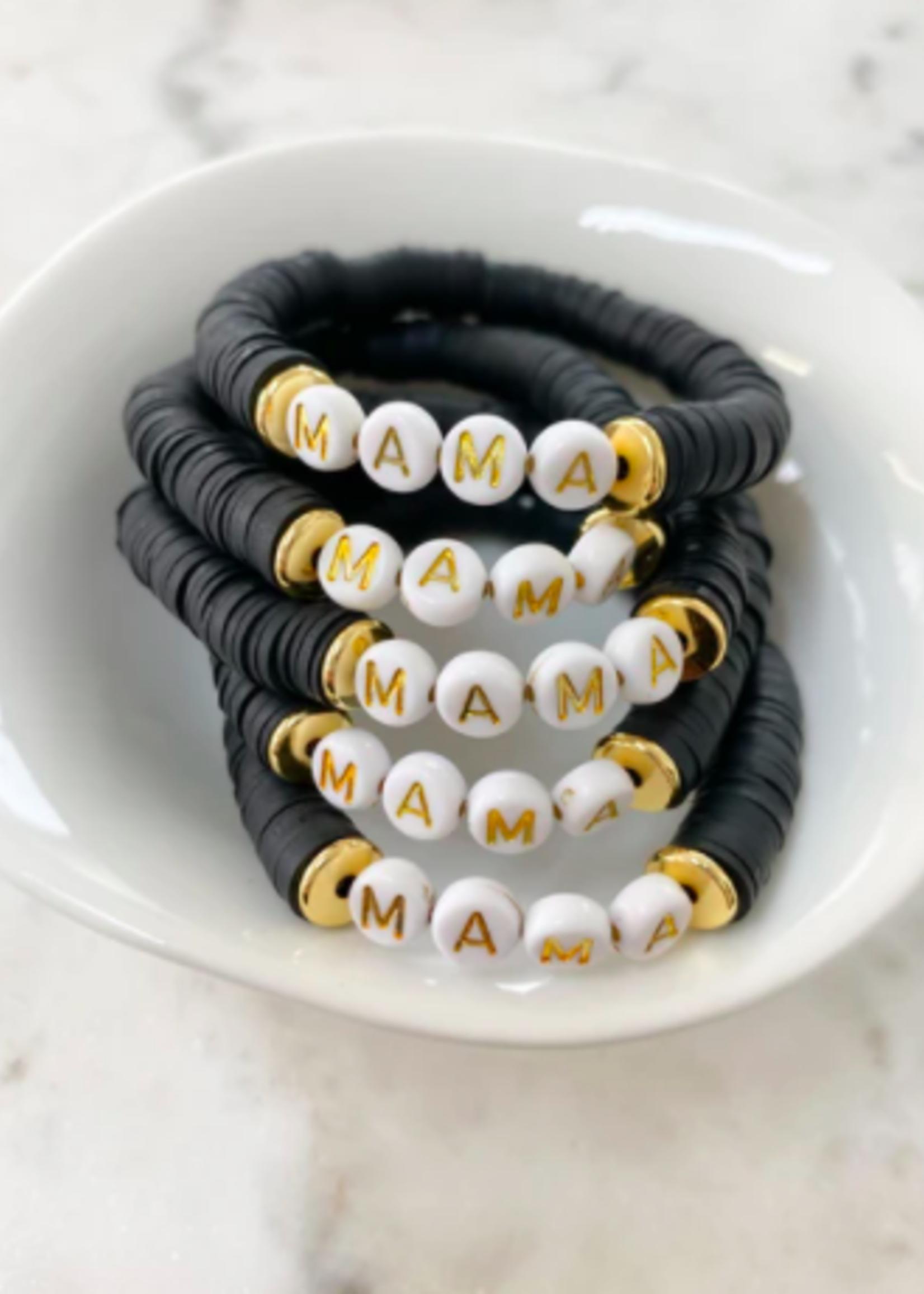 Mod Miss Jewelry Black Mama Bracelet Medium