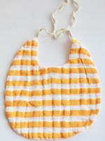 Clementine Kids Citrus Stripe Baby Bib