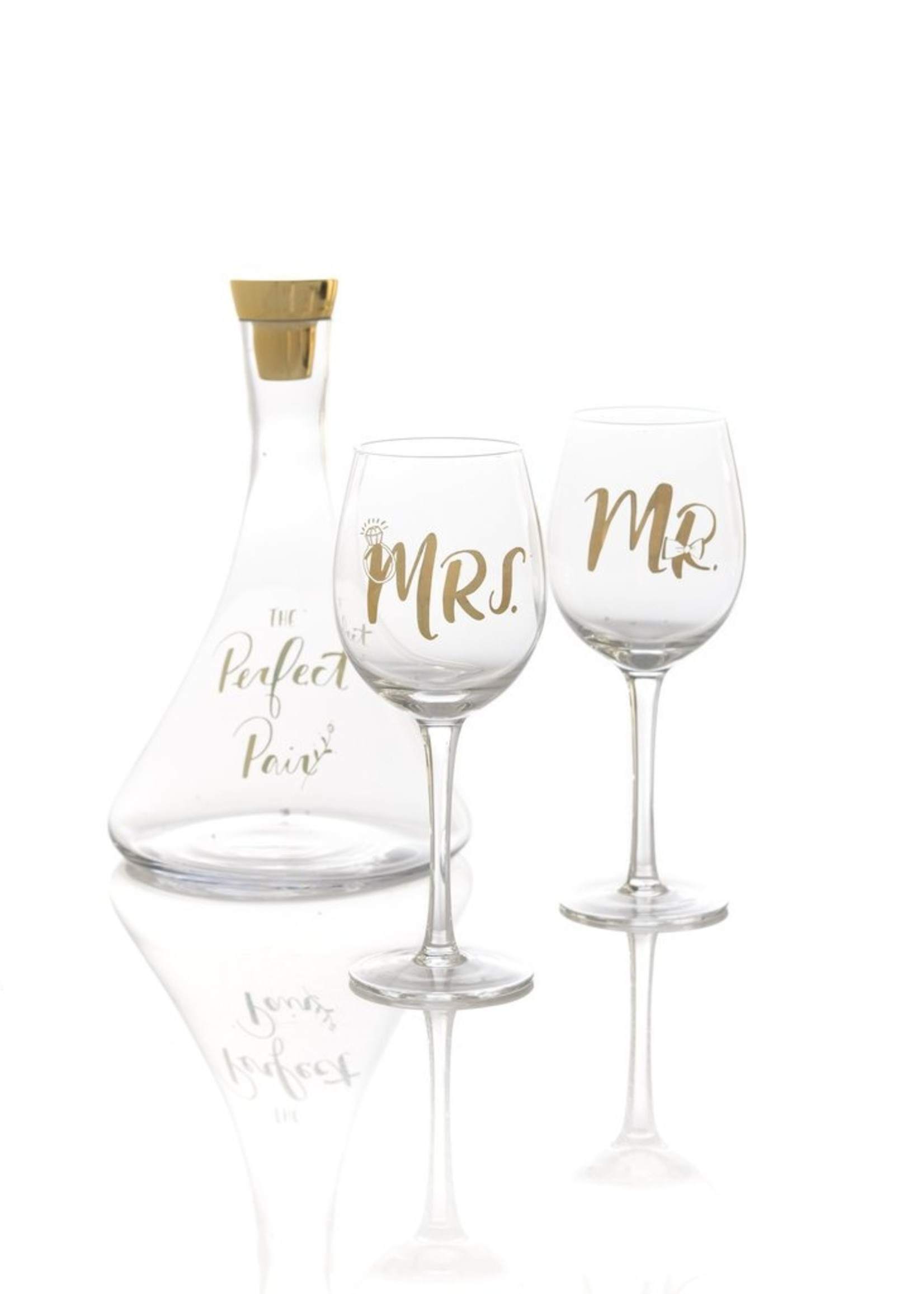The Perfect Pair Decanter and Glass Set
