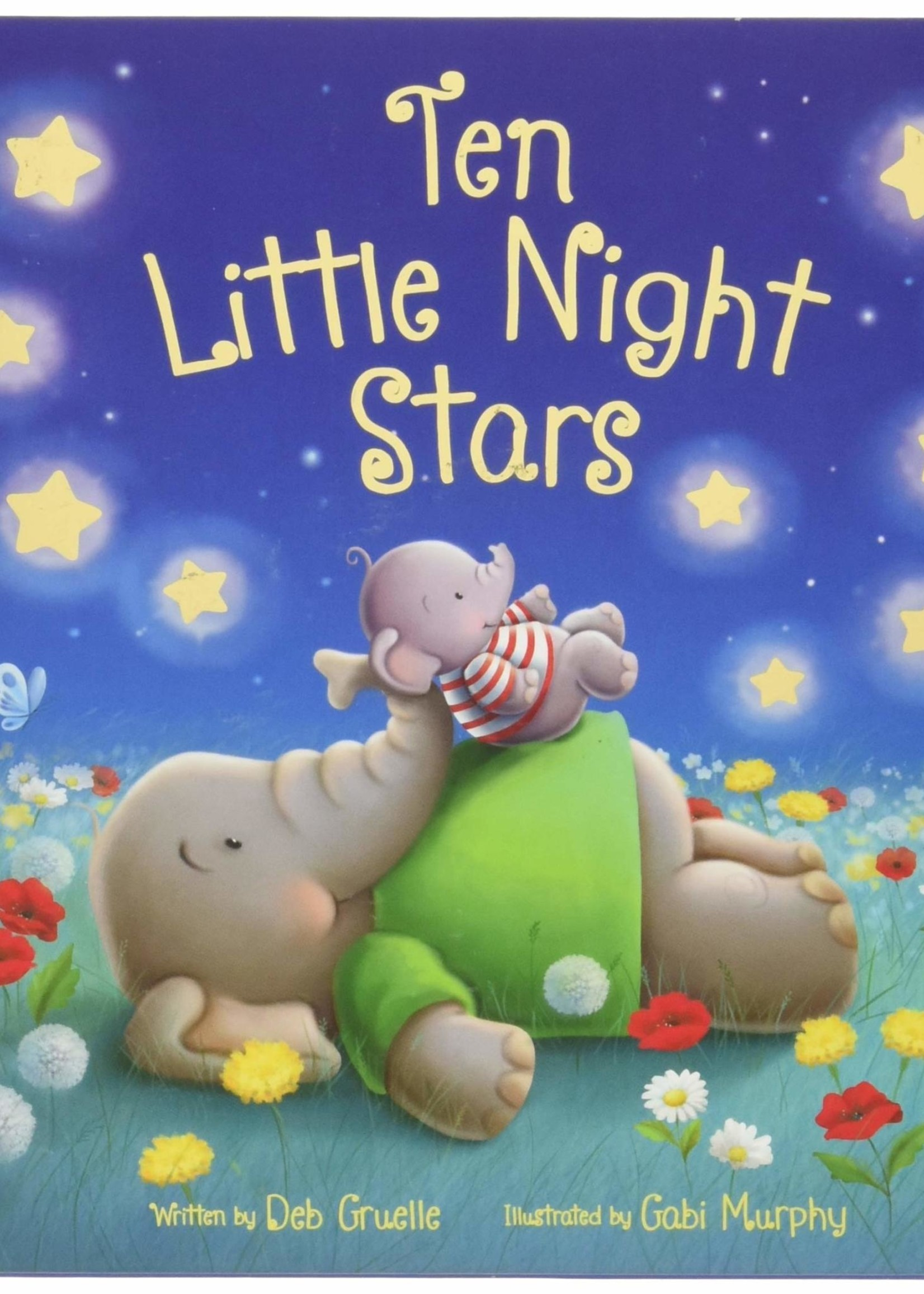 Ten Little Night Stars Book