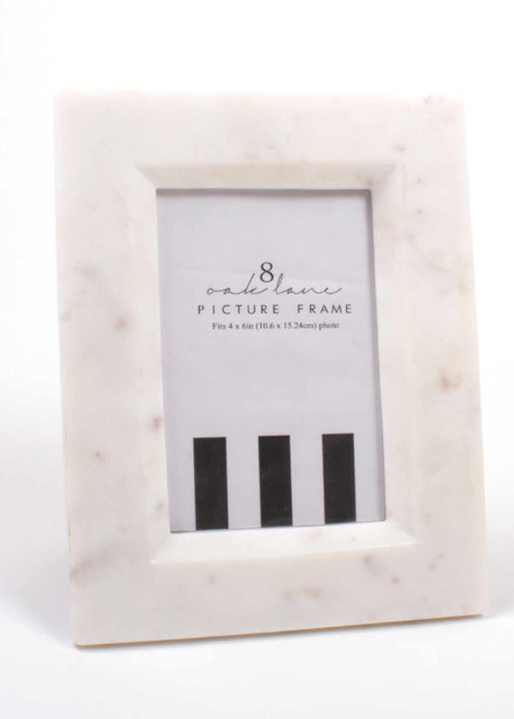 White Marble Picture Frame 4X6