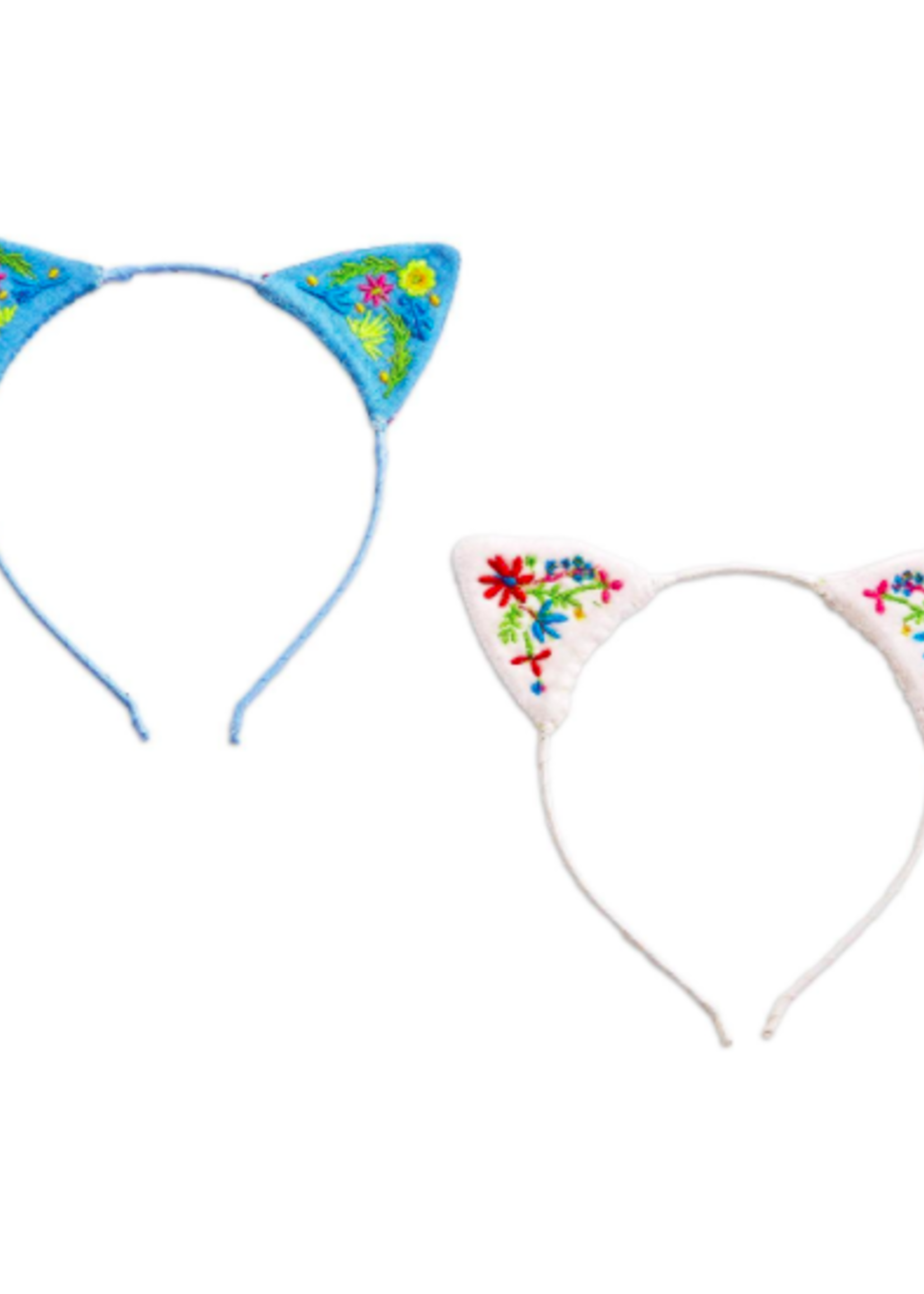 Embroidered Cat Ears