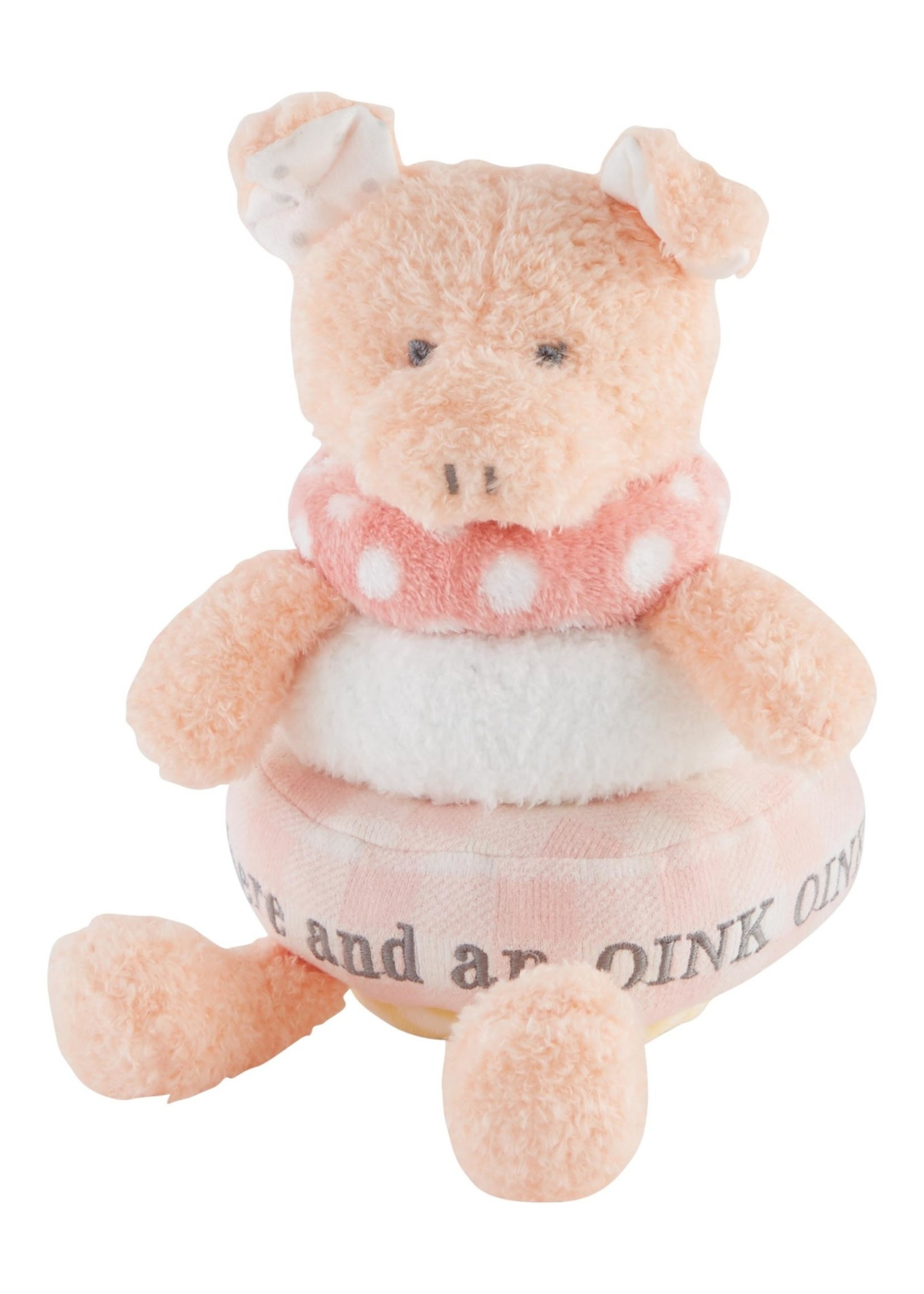 Pig Stackable Plush Toy