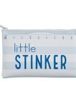 Little Stinker Blue Wipe Bag