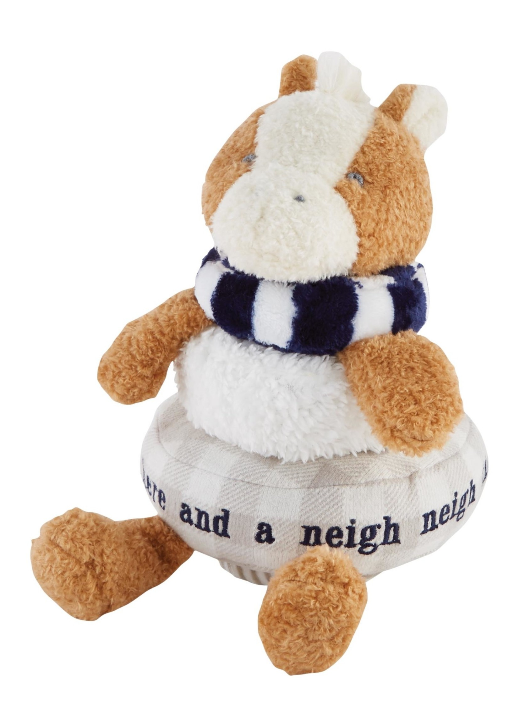 Horse Stackable Plush Toy
