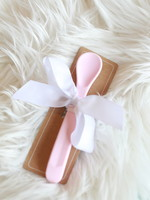 Light Pink Silicone Spoon