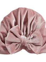 Mud Pie Pink Velvet Bow Hat