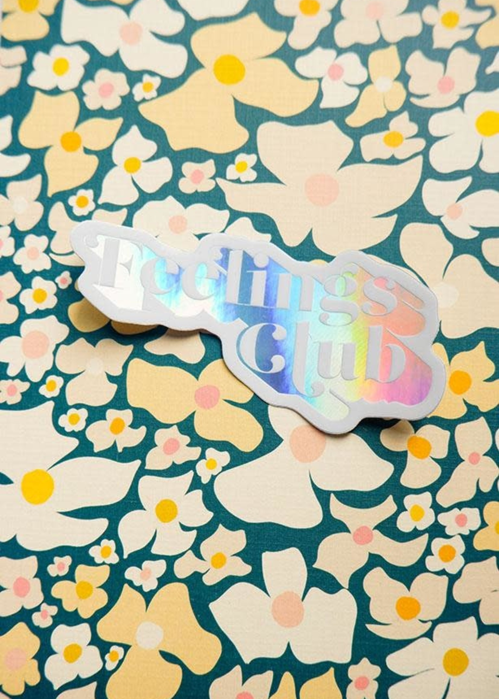 One & Only Paper Feelings Club Holographic Sticker