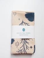 One & Only Paper Cosmos Petite Flour Sack Tea Towel