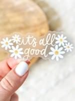 Elyse Breanne Design It's All Good Daisy Sticker