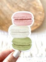 Elyse Breanne Design Macarons Sticker