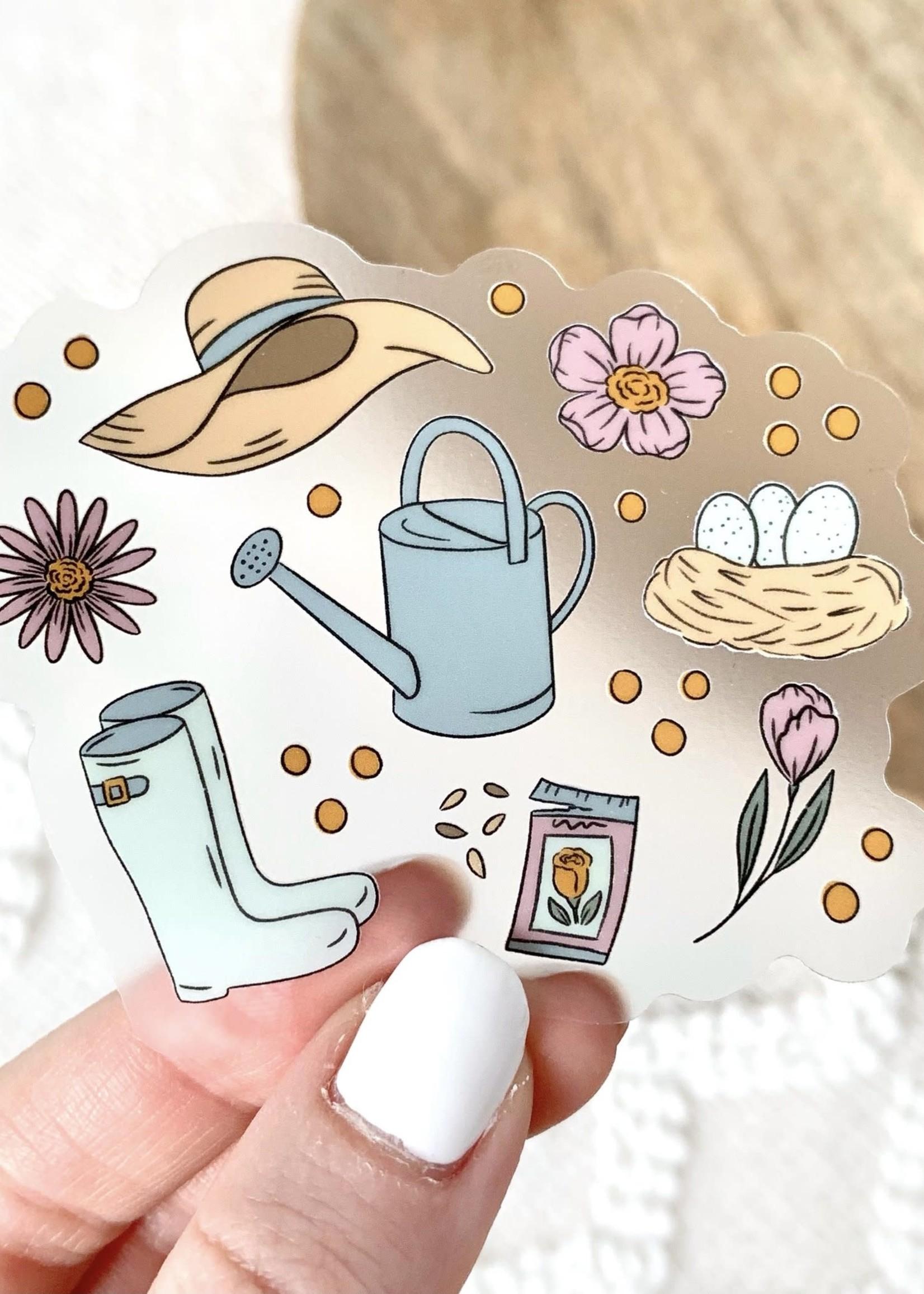 Elyse Breanne Design Clear Spring Favorites Sticker
