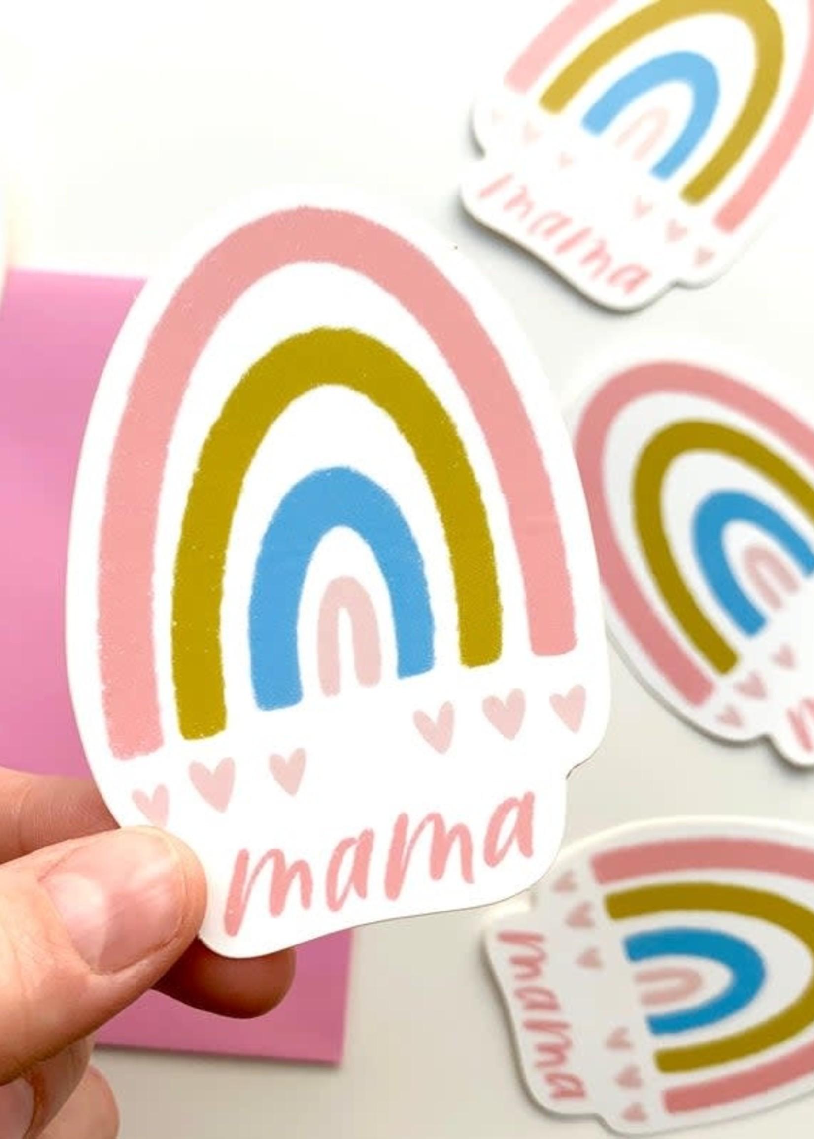Happy Tines Rainbow Mama Sticker