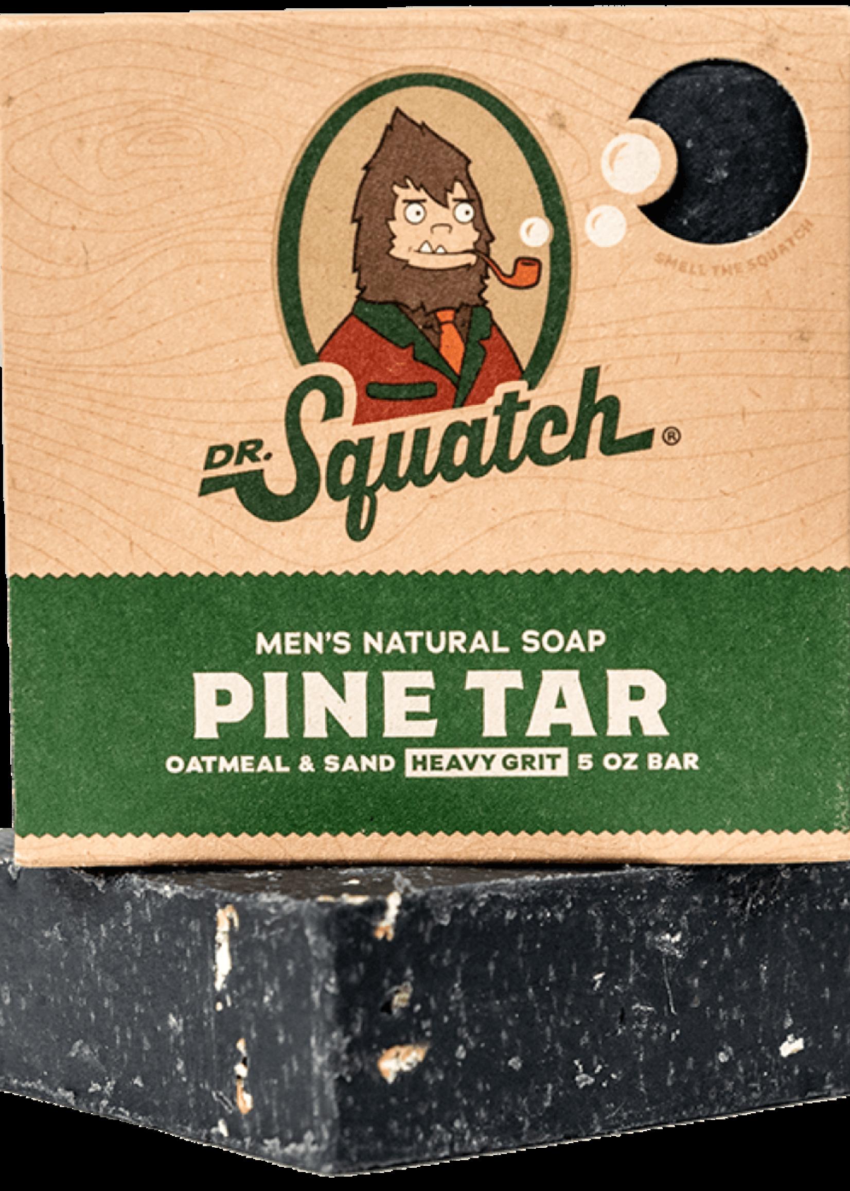Pine Tar Heavy Grit Men's Soap
