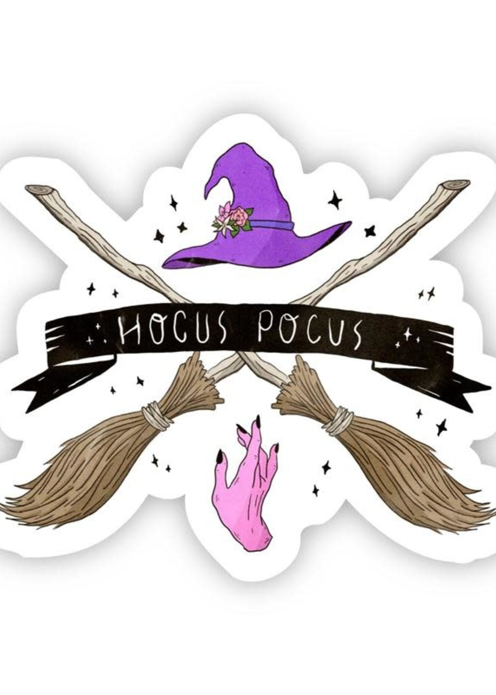 Hocus Pocus Halloween Sticker