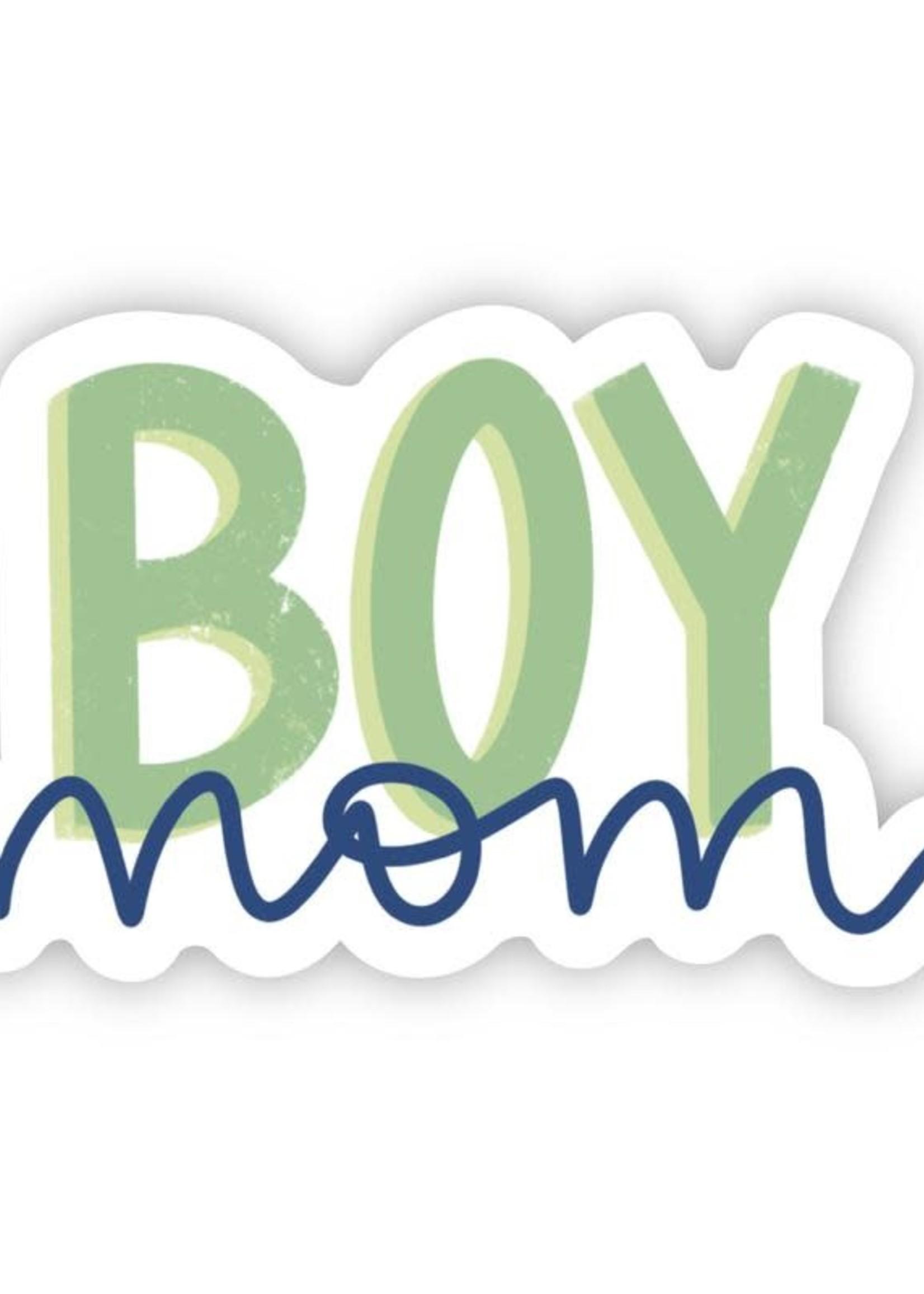 Boy Mom Sticker