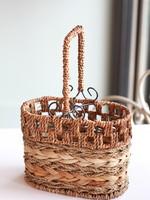 Local Squirrel Originals Woven Wine Basket