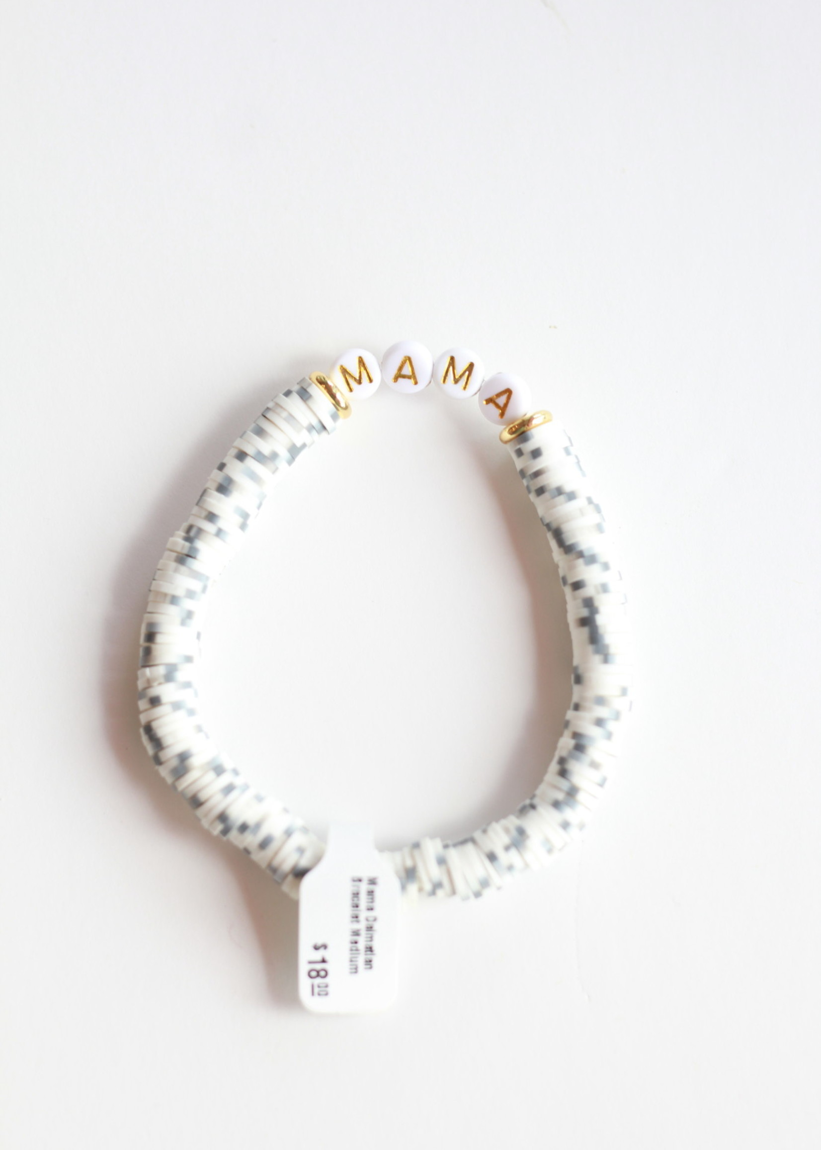 Mod Miss Jewelry Mama Dalmatian Bracelet Medium