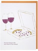 Pizza & Wine Card